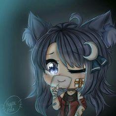 Anime Drawing Styles, Anime Girl Drawings, Cute Anime Chibi, Cute Anime Pics, Kawaii Anime, Anime Wolf Girl, Anime Art Girl, Wolf Life, Cute Kawaii Drawings