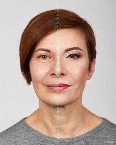 Can Makeup Make Me Look Younger Stool - 7 tricks from a makeup artist to help you look younger Bold Makeup Looks, Summer Makeup Looks, Makeup To Look Younger, Makeup Over 40, Simple Makeup Tips, American Makeup, Makeup Lessons, Natural Eye Makeup, Fall Makeup