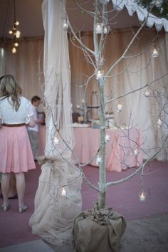 just an idea for you on sizing and look of trees for your reception    Ruffled® | Picture 17579 « Handmade LDS Wedding
