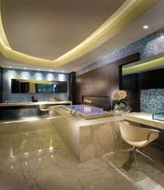 Marble Tile Flooring for Bathroom Design Ideas