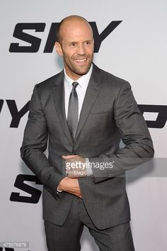 Jason Statham attends the 'Spy' New York Premiere at AMC Loews Lincoln Square on June 1, 2015 in New York City.