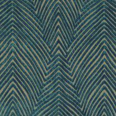 Modern Dark Teal Velvet Upholstery Fabric for by PopDecorFabrics