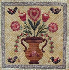vintage valentines quilt pattern | ... Vintage Valentine pattern is by Verna Mosquera at The Vintage Spool