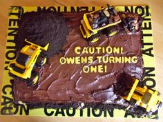 Holly Muffin: Construction Site Cake Part 2