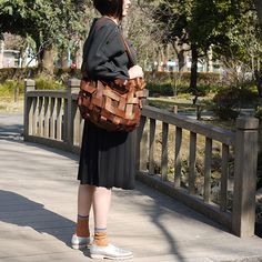 #socks by #ayame and #leather #bag #shoes by #malababa