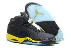 "Cheap Air Jordan 5 ""Thunder"" Black/Tour Yellow For Sale Online AMnMH from Reliable Big Discount! Cheap Air Jordan 5 ""Thunder"" Black/Tour Yellow For Sale Online AMnMH suppliers. Cheap Jordans, New Jordans Shoes, Men's Shoes, Air Jordans, Fly Shoes, Running Shoes, Nike Air Max, Air Jordan 5 Retro, Nike Air Jordan Retro"