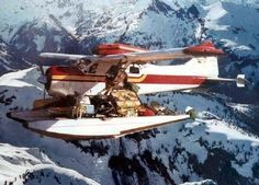 I guess moving to the wilderness can be a bitch. Fear Of Flying, Flying Boat, Luftwaffe, Bush Pilot, Plane And Pilot, Bush Plane, Float Plane, Rando, Aircraft Pictures