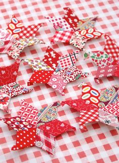 english paper pieced stars