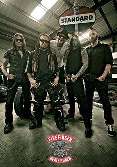 Five Finger Death Punch-game mentor on BandFuse: Rock Legends Metal Fan, Heavy Metal, Sacramento, Jason Hook, Save Our Souls, Ivan Moody, I Walk Alone, Jane's Addiction, Five Fingers