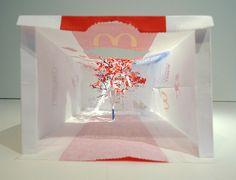 Delicate Paper Bag Trees Created By Yuken Teruya