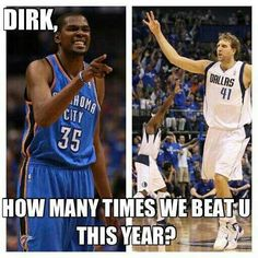 Kevin Durant #35 #KD OKC Thunder #Thunderup. Haha this one made me laugh