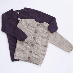 Ravelry: 4 fine cardigans pattern by Mette Hvitved Knitting For Kids, Baby Knitting, Crochet Baby, Knit Crochet, Knit Vest, Cardigan Pattern, Diy Baby, Ravelry, Barn