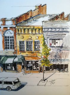 Urban Sketchers Midwest: Closed for Business
