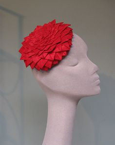Jane Taylor Millinery Dahlia style small toque. #millinery #judithm #hats