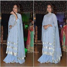 Party Wear Indian Dresses, Pakistani Bridal Dresses, Pakistani Outfits, Kurta Neck Design, Ethnic Outfits, Bollywood Stars, Bollywood Celebrities, Indian Designer Wear, Celebrity Dresses