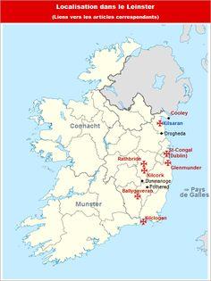 Commanderies templières dans le Leinster, Irlande