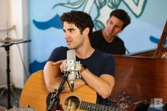 Darren and a guitar is what I am here for.