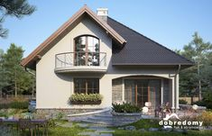 House Roof Design, House Outside Design, Small House Design, Modern House Design, Plans Architecture, Architecture Design, Contener House, Modern Bungalow House, House Construction Plan