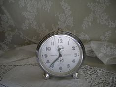 French vintage Bayard alarm clock.