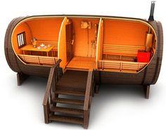 saunafass fass sauna kaufen von gartenhaus sauna pinterest sauna kaufen fass und. Black Bedroom Furniture Sets. Home Design Ideas