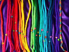 Rainbow Crochet Dread Extensions | Flickr: Intercambio de fotos