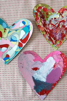 Valentine's Day art project: