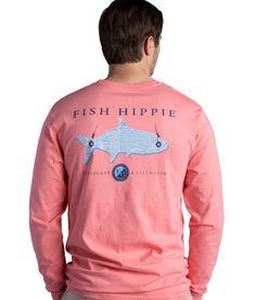Fish Hippie Seersucker & Saltwater Long Sleeve T-shirt