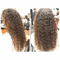 Perm with very tight curls cute hair pinterest tight piggyback perm results after drying urmus Gallery