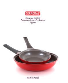CERACOAL COOKWARE CERAMIC COATED NON-STICK FRYPAN FOR DURABILITY