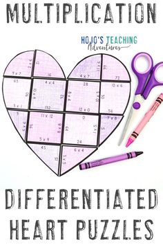 This MULTIPLICATION heart puzzle is a great way to help 3rd, 4th, or 5th grade upper elementary students celebrate grandpa, grandma, or another important adult this Grandparent's Day. You can turn this academic activity into a puzzle by gluing it to a sheet of construction paper. Great for the classroom or a project at home. Click through now to try this with your third, fourth, or fifth graders. #GrandparentsDay #UpperElementary Practice Math Problems, Grandparents Day Activities, 5th Grade Classroom, Classroom Ideas, Reading Recovery, Ell Students, Country Girl Quotes, Maths Puzzles, Basic Math