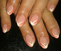 french orange pink designs red designs nail design nails white and orange nails Dark Pink Nails, Orange Nails, Gold Nails, White Nails, Fun Nails, Nail Pink, French Nails, Donia, Triangle Tattoos