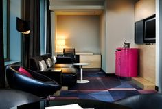 Fantastic and Marvelous Suites - Living Room---W MINNEAPOLIS - THE FOSHAY