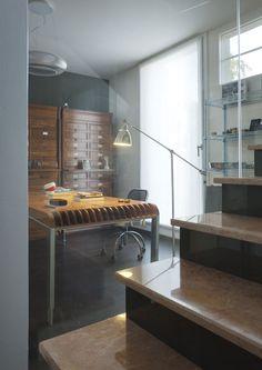 massimo iosa ghini constructs personal home, studio, showroom hybrid