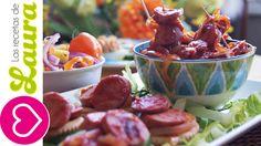 Salchichas a la Diabla♥Super Bowl Healthy Appetizers♥Deviled Winnies♥Botanas Super Bowl