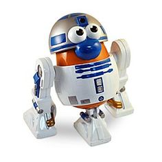 R2-D2 Mr. Potato Head Play Set - Star Wars | Disney Store The rebellious droid from a galaxy far, far away, comes down to earth as this R2-D2 Mr. Potato Head Play Set. Our collectible spud includes removable components. This PopTater figure is a stellar pick for <i>Star Wars</i> fans of all ages!