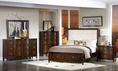 Homelegance 2125-1 Abramo Bedroom Set with Storage Bed