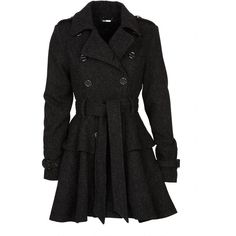 Steve Madden Wool Peplum Coat and other apparel, accessories and trends. Browse and shop 21 related looks.