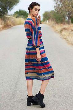 Vestido años 80. Disponible. Foto https://www.facebook.com/laura.bauca www.facebook.com/sofia.clarbosch