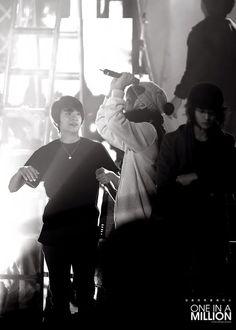 SHINee - Jonghyun Kim & Minho Choi with Amber Liu [f(x)]