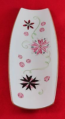 1954-78 Stangl Pottery Hand Painted Carnival Bread Tray #3900