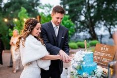 Blue and White Outdoor Wedding at Boot Hill at Kunde Winery in Kenwood, CA | 29 more photos on PartySlate