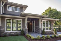 Versetta Stone® is a mortarless, ceme… Versetta Stone® – Ledgestone, Sterling. Versetta Stone® is a mortarless, cement-based manufactured stone panel. House Front, House Siding, Stone Siding, Windows Exterior, Versetta Stone, Lake Houses Exterior, Exterior Stone, House Painting, House Paint Exterior