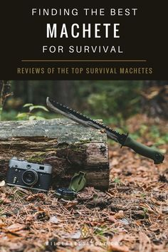 Looking for a Machete to take with you out into the brush?  Check out our review guide for some of our favorites!  #Survival #Machete #Prepper #Bushcraft #OutdoorGear #SurvivalGear