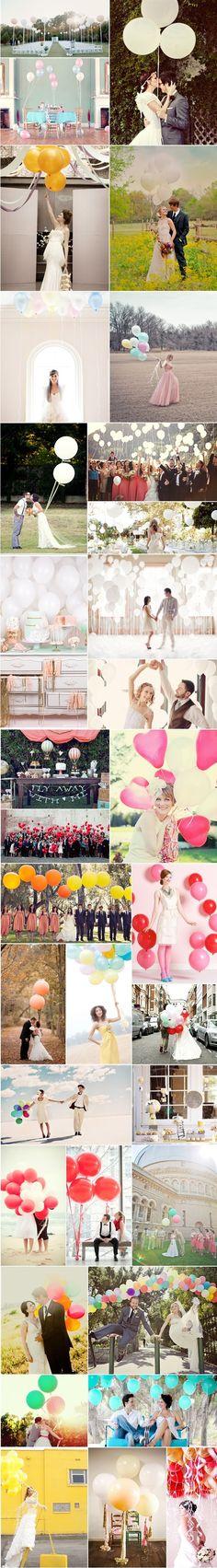 Ballonnen = makkelijk, niet duur en leuk!