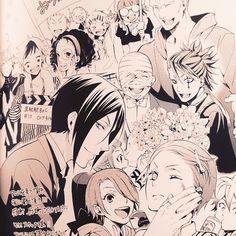 "psicomaniatica: ""Tobo-chan's message illustration part1 #kuroshitsuji #黒執事 #枢やな…"