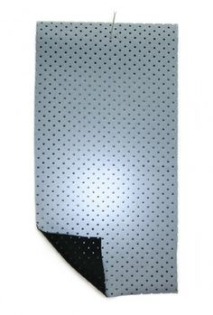Cloth House|shop | reflective perforated | silver