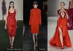 50 Tons de Vermelho para o Inverno 2013: Tendência do SPFW.