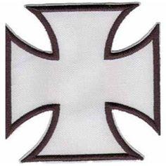 Bordado Cruz Blanca