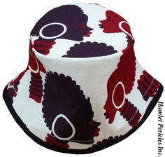 African-Queen Tribal Bucket Hat  Afro  by HamletPericlesInc