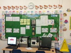 Around this working wall which shows the key themes and ideas the children are using in the learning is a number line. This acts as scaffolding for the children as it supplements their learning by surrounding them with subject knowledge and helpful resources to use in activities and tasks.